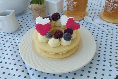 Cream tart al limone e cioccolato bianco