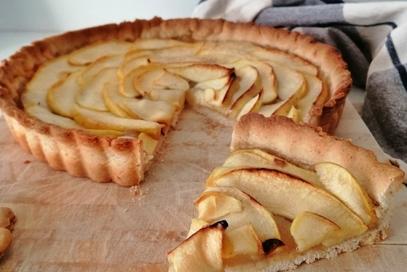 Crostata vegana di mele