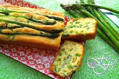 Cake salato al farro con legumi primaverili