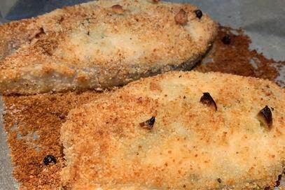 Salmone croccante al forno