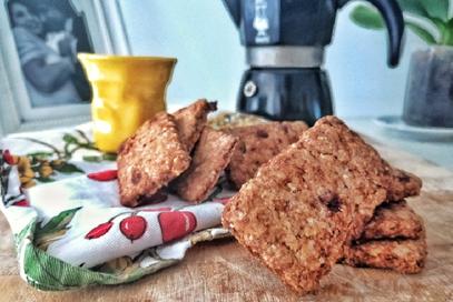 Biscotti vegani integrali alla mandrola